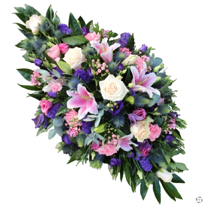 Pink & Purple Double Ended Funeral Spray