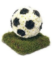 Football Funeral Tribute.