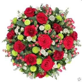 Loose Funeral Posy Pad
