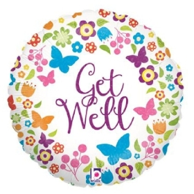 get-well-soon-butterfly-balloon-flower-delivery-strood-rochester-medway-kent